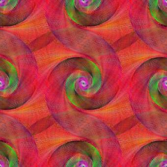 Red Wired Abstract Spiral Background - Free Stock Photo