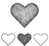 Free Photo - Vector Heart Icon Set