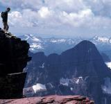 Free Photo - Hiker on Top