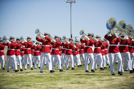 Drum and Bugle Corps - Free Stock Photo