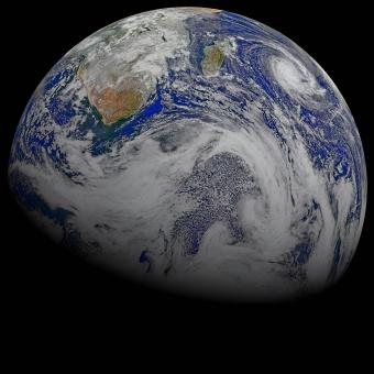 Earth from Space - Free Stock Photo