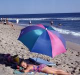 Free Photo - Sunbathing on the Beach