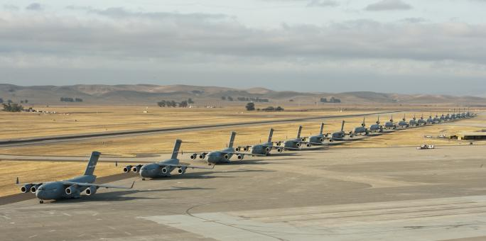Military Jets on the Runway - Free Stock Photo