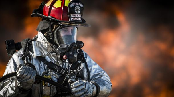 Firefighter - Free Stock Photo