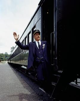 Train Conductor - Free Stock Photo