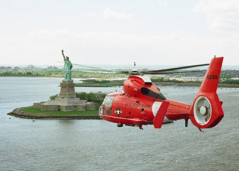 US Coast Guard Helicopter - Free Stock Photo