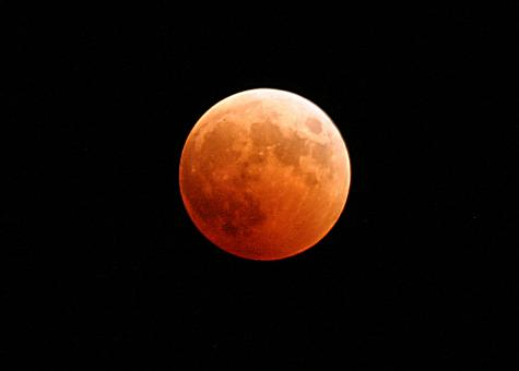 Lunar Eclipse - Free Stock Photo
