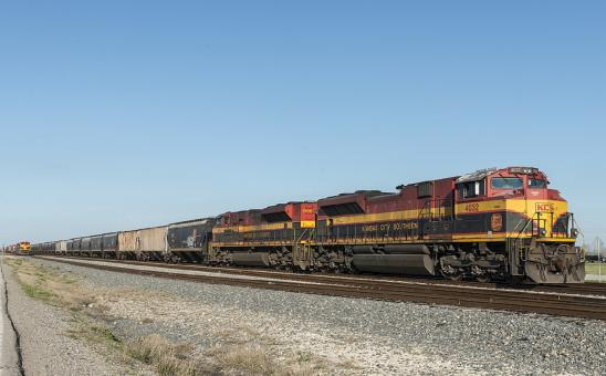Kansas City Southern Train - Free Stock Photo