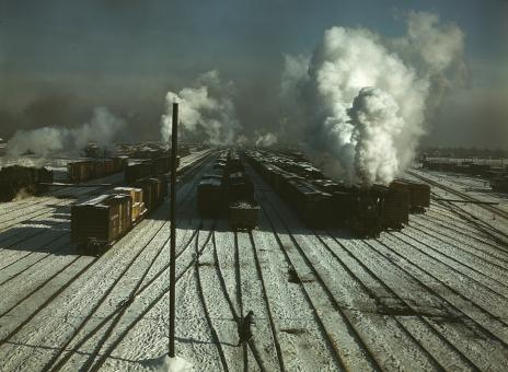 Railroad Yard - Free Stock Photo