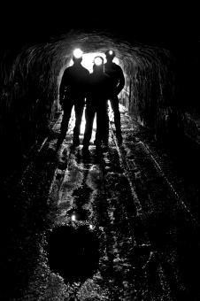 Silhouettes in the Tunnel - Free Stock Photo