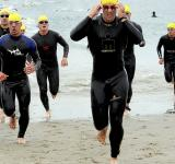 Free Photo - Triathlon Runners