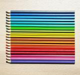Free Photo - Colored Pencils Aligned