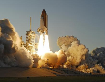 Atlantis Space Shuttle launch - Free Stock Photo