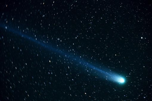 Comet on the Sky - Free Stock Photo