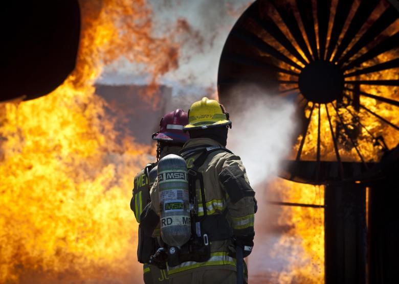 Free Stock Photo of Firefighters Created by Pixabay