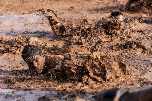 Soldiers in the Mud - Free Stock Photo