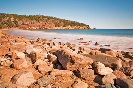 Rocky Sand Beach - Free Stock Photo