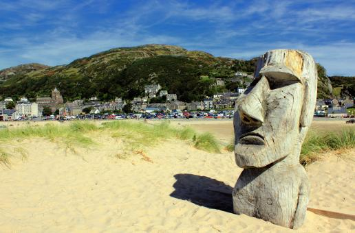 Barmouth Moai Man - Free Stock Photo