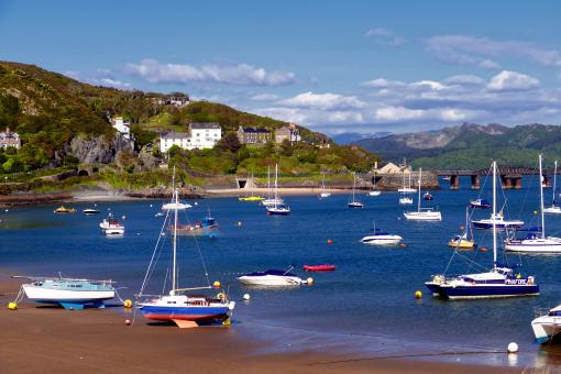 Barmouth Harbour Boats - Free Stock Photo