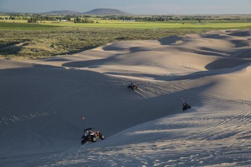 Racing on the Sand Dunes - Free Stock Photo