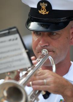 Military Trumpeter - Free Stock Photo