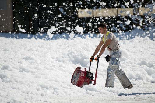 Snow Thrower - Free Stock Photo