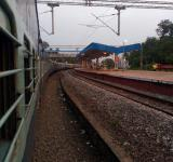 Free Photo - Evening Railway View