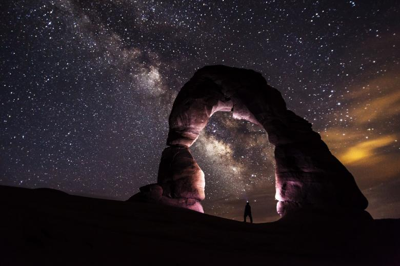 Free Stock Photo of Delicate Arch Created by Pixabay