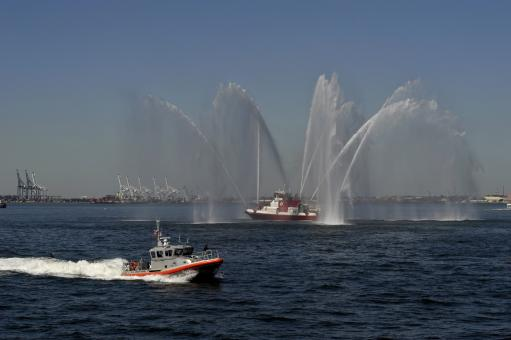 Fire Boat - Free Stock Photo