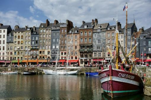 Honfleur Boat Stand - Free Stock Photo
