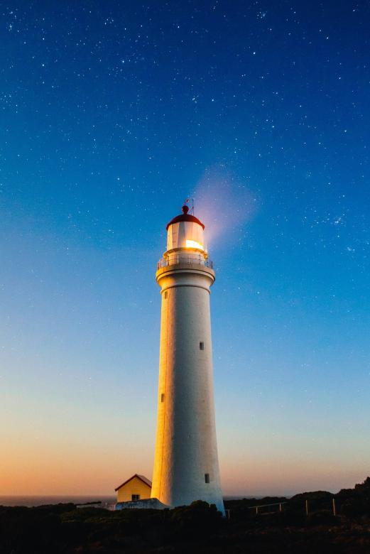 Free Stock Photo of Lighthouse Created by Pixabay