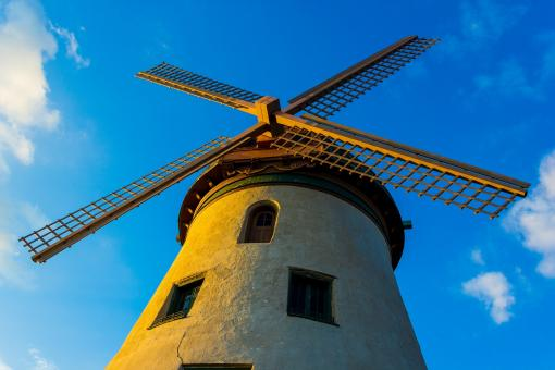 Old Windmill - Free Stock Photo
