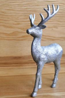 Silver Deer - Free Stock Photo