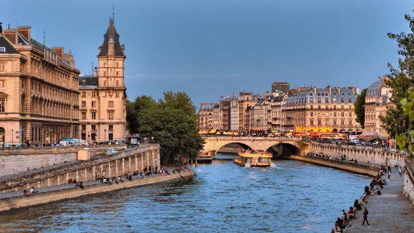 Seine River - Free Stock Photo
