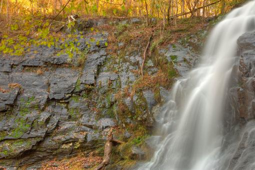 Jones Run Profile Falls - HDR - Free Stock Photo