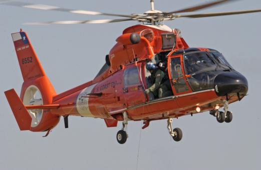 Coast Guard Helicopter - Free Stock Photo
