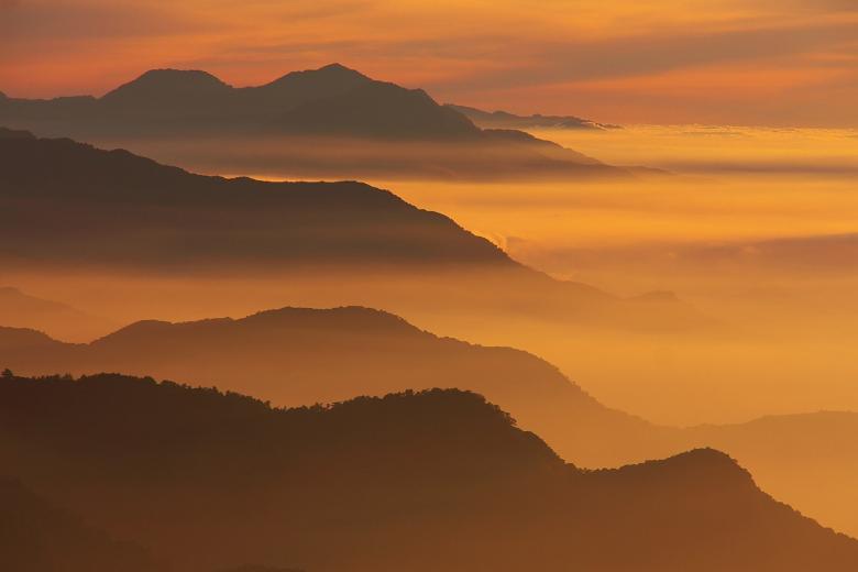 Free Stock Photo of Mountain Range