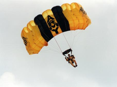 Military Skydiver - Free Stock Photo
