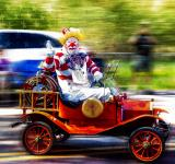 Free Photo - Clown Riding
