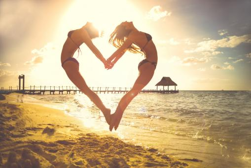Beach Heart - Free Stock Photo