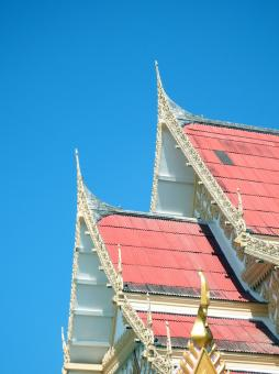 Temple Roof Detail - Free Stock Photo