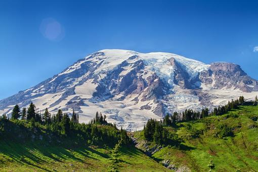 Mount Rainer, Washington - Free Stock Photo