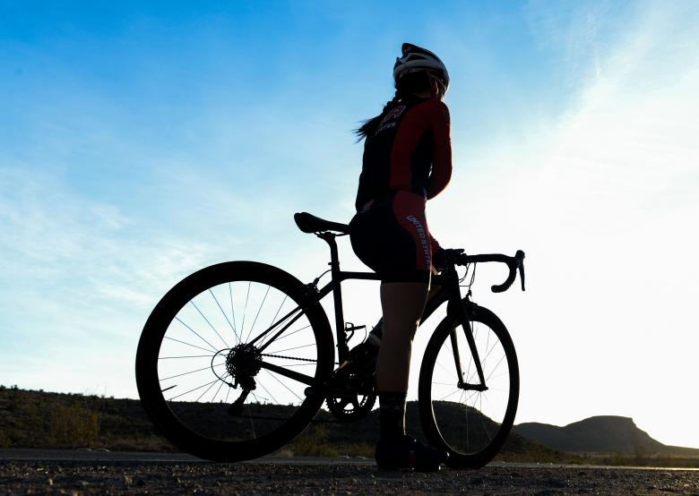 Free Stock Photo of Bicycle Rider Created by Pixabay