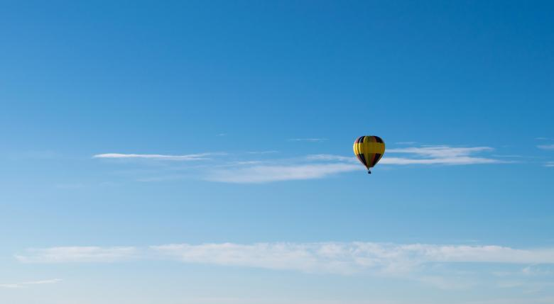 Free stock image of Hot Air Balloon created by Pixabay