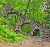 Free Photo - Castle Staircase Ruins - HDR