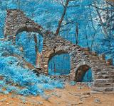 Free Photo - Castle Staircase Ruins - Nuclear Winter HDR