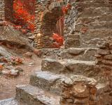 Free Photo - Close-up Castle Staircase Ruins - Ruby Autumn HDR