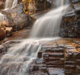 Free Photo - Golden Shelving Rock Falls - HDR