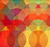 Free Photo - Colorful Circles on Grunge Background - Abstract Pattern