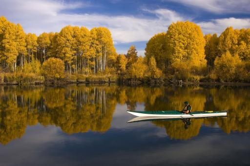 Kayaking in the River - Free Stock Photo
